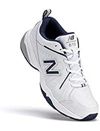 619 V2 MX619WN Men's Wide Cross Training Sneakers 11 4E US White