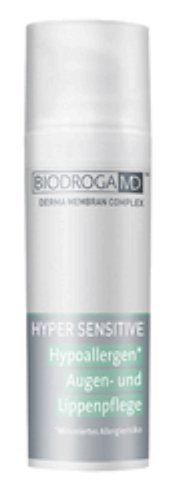 Cream Tole (Biodroga Md Hypoallergen Eye & Lip Care 50 Ml - Pro Size. Creates Velvety Smooth and Even Skin Around the Eyes and Lips.)