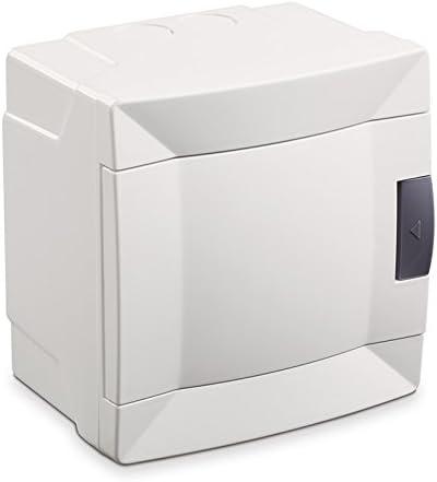 MAKEL 28001227 Bo/îte de s/écurit/é 4 MODULE AUFPUTZ Blanc