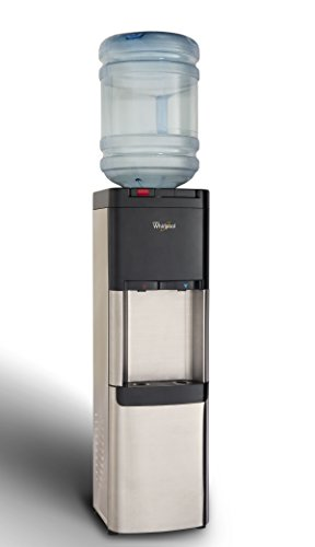Whirlpool Self-Cleaning Commercial Water Cooler, Ice Chilled Water, Steaming Hot, Stainless Steel Water Dispenser by Whirlpool