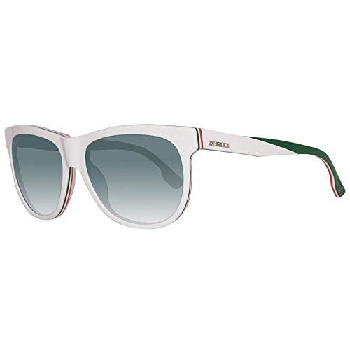 Diesel DL0112 24Q Sunglasses Red&WhiteFrame /Green - Diesel Sunglasses Red
