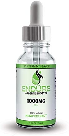 Endure 1000MG Hemp Extract Pain,Recovery and Weight Gainer and Appetite Booster Will Help Women and Men Gain Weight Fast. Liquid Weight Gain Supplement Works Faster Than Weight Gain Pills and Helps