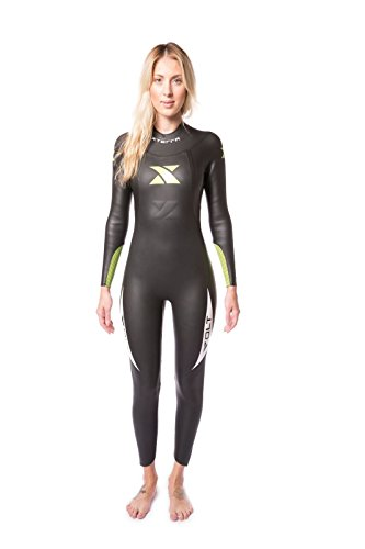 XTERRA Women's Volt Triathlon Full Body Wetsuit 3/2mm - Wetsuit Best Triathlon