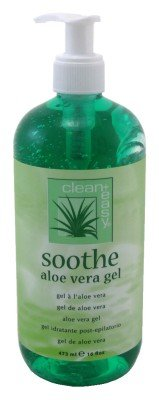 Clean + Facile Apaiser Gel d'Aloe Vera, 16 Fluid Ounce