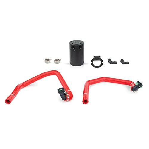 Mishimoto MMBCC-MUS4-15PRD Red PCV Side Baffled Oil Catch Can (Crankcase Vent Catch Can compare prices)