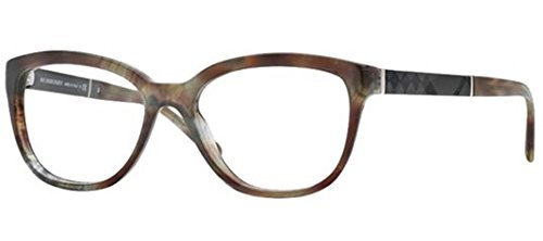 Burberry BE2166 Eyeglasses-3470 Spotted Gray-52mm