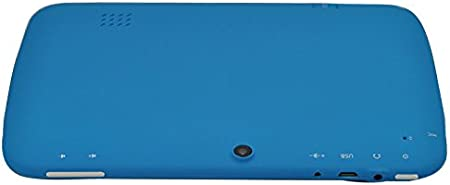 JINYJIA E-SHOP 7 Inch Cute Lovely Google Android 4.2 Jelly Bean Children Kids Tablet PC RK3026 Dual Core 1GHz Camera 512MB DDR3 WiFi 3G 4GB 5 Point Capacitive Blue, [Importado de UK]: