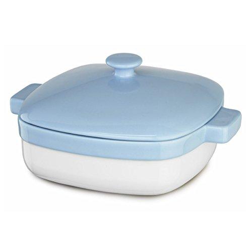 Azure Blue Ceramic (KitchenAid KBLR42CRAZ Streamline Ceramic 4.2-Quart Casserole Bakeware - Azure Blue)