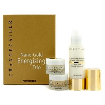 Nano Gold Energizing Trio: Firming Treatment 50ml + Face Cream 15ml + Eye Cream 15ml - 3pcs