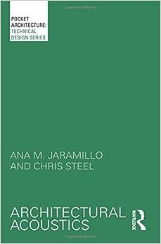 Book Architectural Acoustics (Pocketarchitecture)