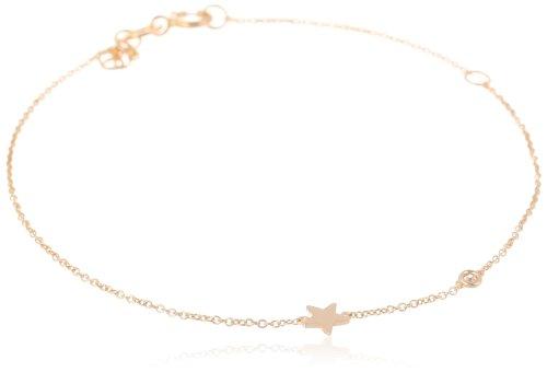 Syd by SE Star Bracelet with Diamond Bezel