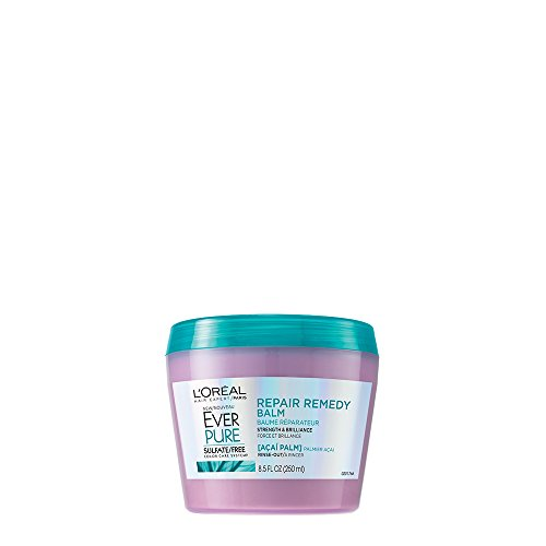 LOréal Paris EverPure Sulfate Free Repair Remedy Balm, 8.5 fl. oz.