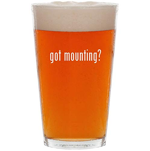 got mounting? - 16oz All Purpose Pint Beer Glass