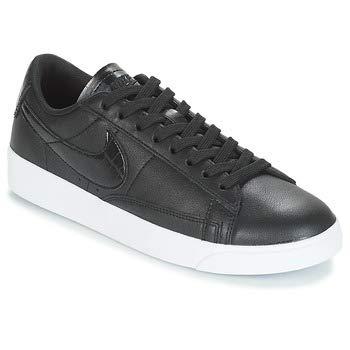 Nike Women's WMNS Blazer Low, Black/Black-Black, 7 US