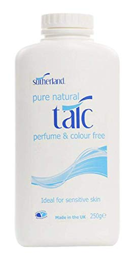 Sutherland Pure Natural Talc 250g (Pack of 2)
