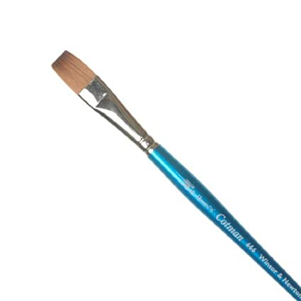Winsor /& Newton Cotman Water Colour Series 666 Short Handle Synthetic Brush One Stroke 1//2