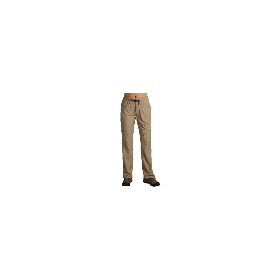 Mountain Hardwear Womens Ramesa Convertible Pants   Khaki 14   34 Inch Inseam