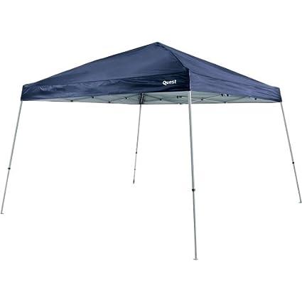 Amazon.com Quest 10 Ft. X 10 Ft. Slant Leg Instant Ez up Pop up Recreational Tent Canopy (Black) Sports u0026 Outdoors  sc 1 st  Amazon.com & Amazon.com: Quest 10 Ft. X 10 Ft. Slant Leg Instant Ez up Pop up ...