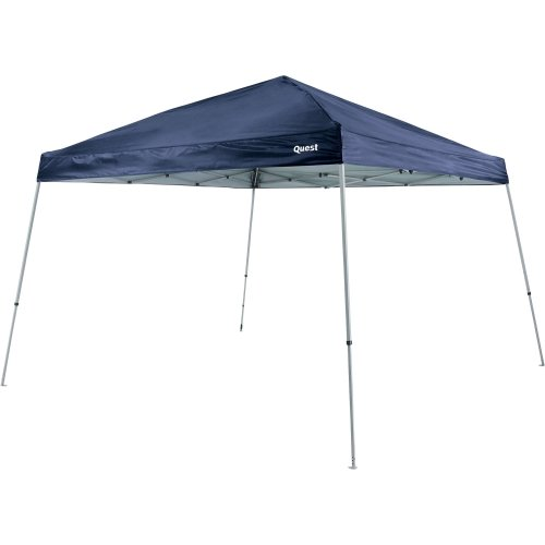 Quest 10 Ft. X 10 Ft. Slant Leg Instant Ez up Pop up Recreational Tent Canopy (Navy Blue)