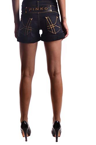 Mcbi20289 Algodon Azul Shorts Pinko Mujer 65wq0Fq8