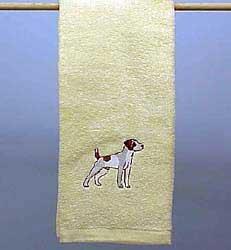 Hand Towel: Jack Russell Terrier