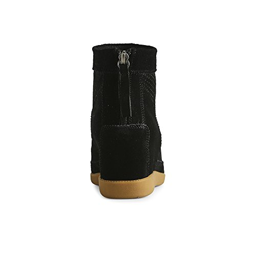 Schwarz S Shoe Emmy the Femme Bottes Bear Black 110 PFq1FBY