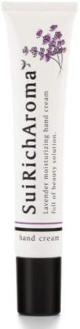 SuiRichAroma エッセンスハンドクリーム(ラベンダーの香り) ※チューブ45g (10)