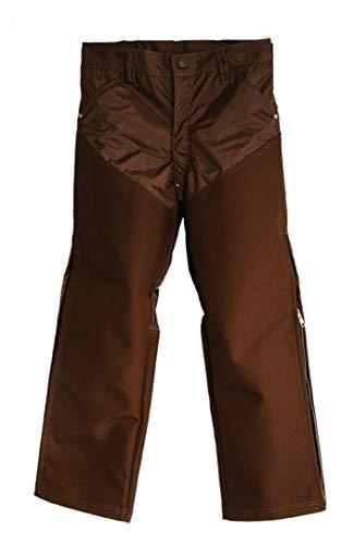 (Dan's Brush Buster Field Pants, Made in U.S.A. (44W x 26L) Brown)