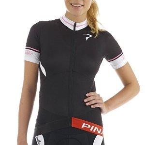 Pinarello 2015 Women's Catena Tour Short Sleeve Cycling Jersey - PI-S5-WSSJ-CATE (CATENA - Black/Pink/White - M)