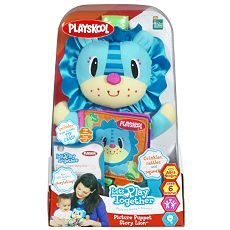 Playskool Let's Play Together Picture Puppet Story Lion (Playskool Picture)