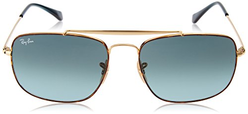 Ray SHADED GOLD RB BLUE Ban 3560 THE de Lunettes COLONEL homme Soleil HAVANA qqRPwT