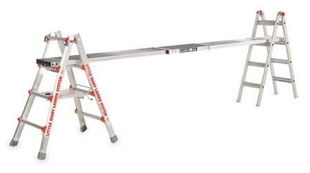 Extension Plank, Aluminum, 250 Pound Cap