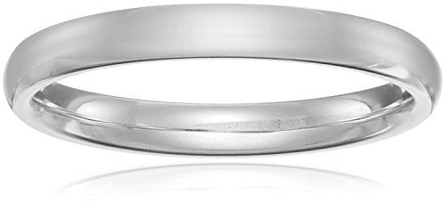 Classic Fit Platinum Wedding Band, 3mm