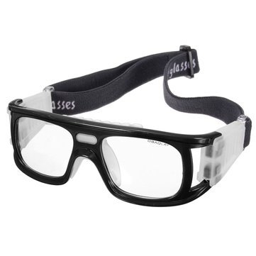 8f301d749b8 Buy Generic Football Basketball Riding Protective Safety Eyewear Goggles  Sports Eye Glasses-Black Online at Low Prices in India - Amazon.in