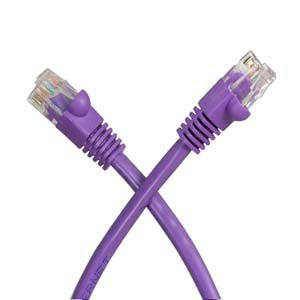 installerparts-100-ft-cat-5e-molded-snagless-patch-cable-purple