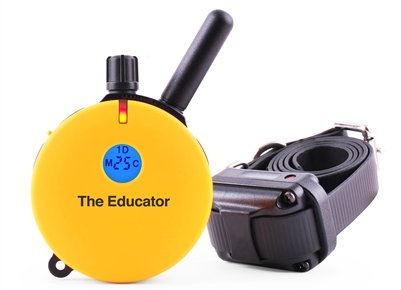 E-Collar Educator 3/4 Mile Remote Dog Trainer + FREE INCLUDED Bungee E-Collar by Educator For Sale