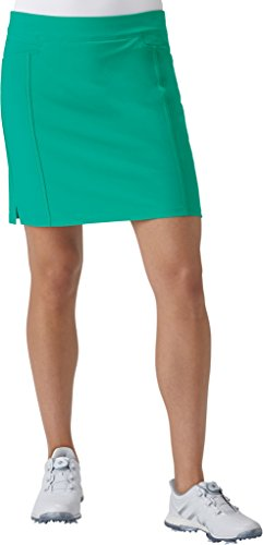 adidas Golf Women's Ultimate Adistar Skort, Core Green, Small