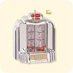 Santa's Jukebox 2007 Hallmark Keepsake Ornament QXG7539