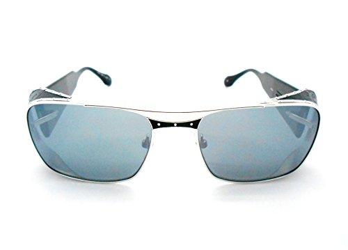 Matsuda M3030 Black Polarized Sunglasses with Mirror - Matsuda Eyewear