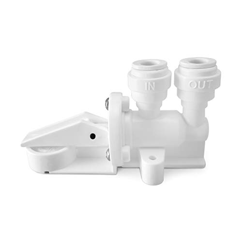 Leak Stop Valve for Reverse Osmosis and Under Sink Water Filtration System - Automatic Water Shut-Off Tool for Filter - Shut Off Water Supply When Water Leaks - Express Water Automatic Shut Off System