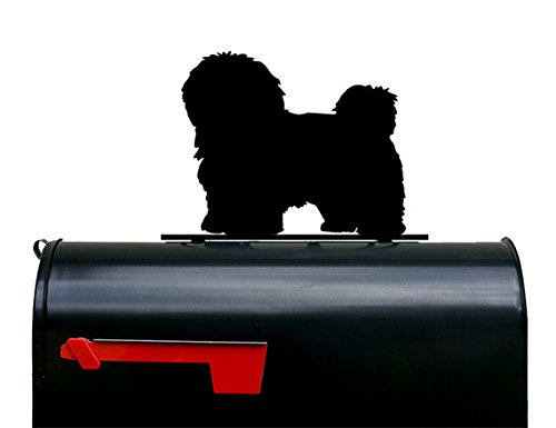 Havanese Dog Silhouette Mailbox Topper / Sign by NewnanMetalWorks