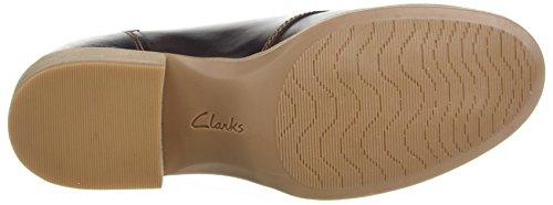 Clarks Damen Maypearl Flora Gevechtslaarzen, Bruin, 35,5 Eu Bruin (donker Bruin Lea)