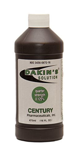 Dakin's Solution®, Quarter Strength (0.125%)