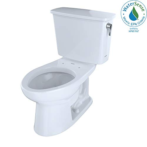 Toto CST744EFRN.10#01 Eco-Drake Toilet and Tank, Cotton