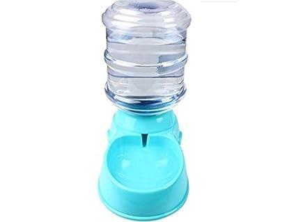 Kxrzu - Botella de Agua para Gatos y Gatos, Color Azul