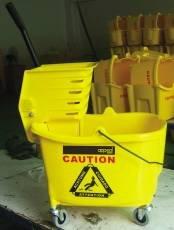 Appeal APP15500 Mop Bucket, Combo Side Press, 35 quart, Yellow