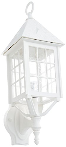 Acclaim 71TW Outer Banks Collection 1-Light Wall Mount Outdoor Light Fixture, Textured White Review