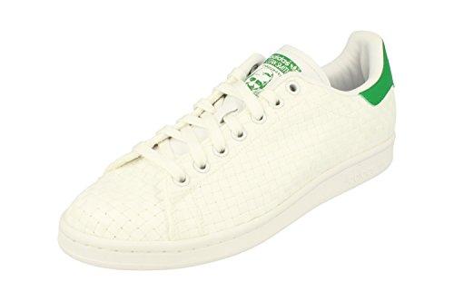 adidas Stan Smith, Scarpe Uomo, Bianco, 47 1/3 EU White White