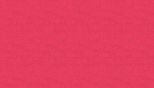 LINEA TEXTURE FABRIC - Fuchsia Pink Linen Texture - MAK593 - By Half Yard - by Makower