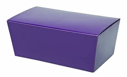 CK Products Large Purple Ballotin Box 86-8313